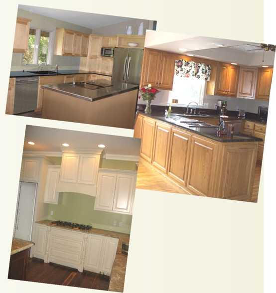 Photos of Custom Kitchen Cabinets